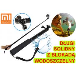 Solidny długi monopod wodoszczelny do kamer Xiaomi YI