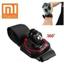 UCHWYT OBROTOWY 360 STOPNI NA NADGARSTEK/RĘKĘ DO XIAOMI YI 1, 2 (4K, 4K+, Lite)