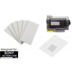 Wkładki antifog do kamery Sony Action Cam - zestaw 6 szt.