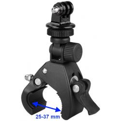 Uchwyt imadło na rower do kamery GoPro