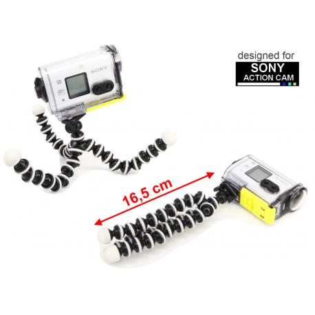 Tripod statyw elastyczny flexipod do kamery Sony Action Cam