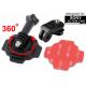 Uchwyt obrotowy 360 stopni na kask do Sony Action Cam