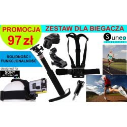 ZESTAW DO BIEGANIA DO KAMER SONY ACTION CAM