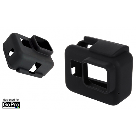 OBUDOWA SILIKONOWA DO GOPRO HERO 7 6 5 BLACK
