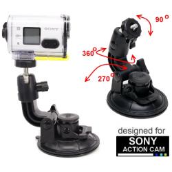 Przyssawka mocna do Sony Action Cam - mocowanie np. do szyby